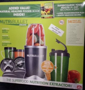 Nutribullet 14 Piece Nutrition Extractor 600W Blender Juicer NBR-1401 Nutri Bullet