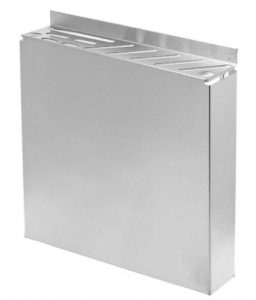 Stainless Steel Knife Rack - Fits Assorted Sized Knives