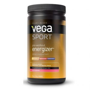 Vega Sport Pre-Workout Energizer, Acai Berry, Tub, 19oz