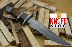 "Knife King ""Emperor"" Custom Damascus Handmade Hunting Knife"