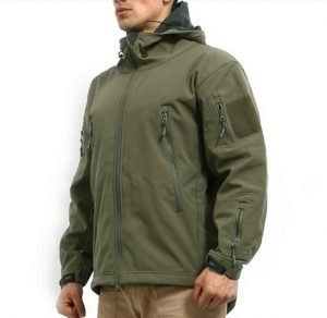 Reebow Gear® Men's Military Special Ops Softshell Tactical Jacket Waterproof