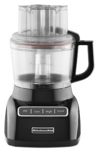 KitchenAid KFP0922OB 9-Cup Food Processor with Exact Slice System