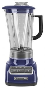 KitchenAid KSB1575BU 5-Speed Diamond Blender with 60-Ounce BPA-Free Pitcher