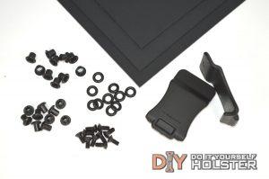 Kydex (Boltaron) Holster DIY Kit w/ Quick Clips