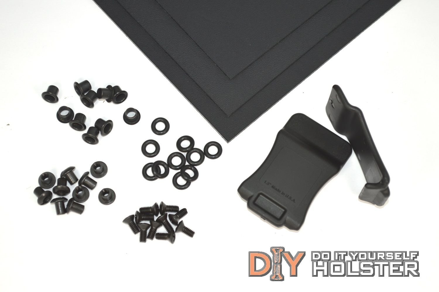 Kydex (Boltaron) Holster DIY Kit w/ Quick Clips