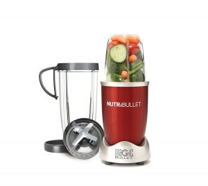 NutriBullet (Red) Hi-Speed Blender/Mixer, 8-piece Set