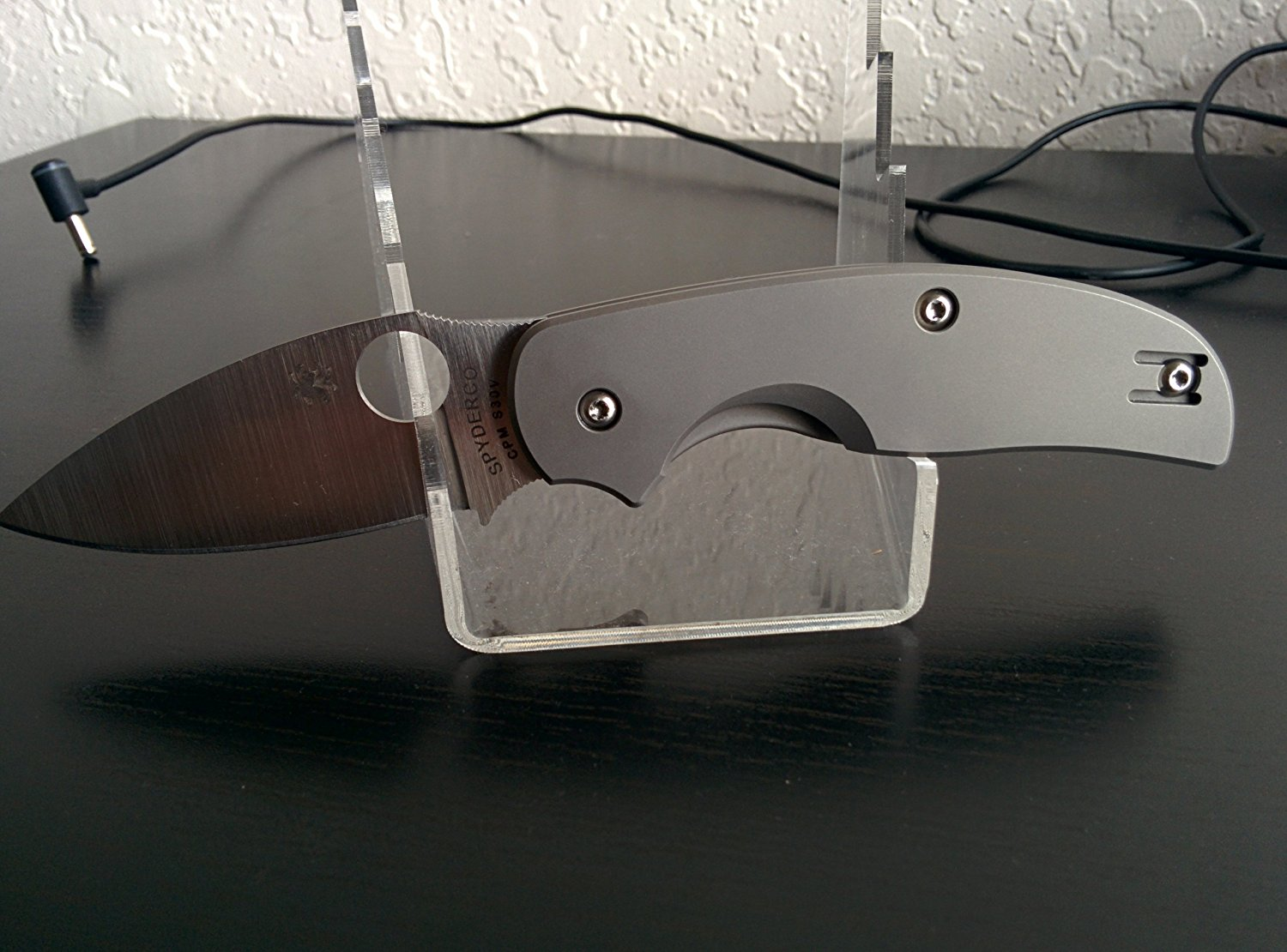 Sage2 Titanium PlainEdge Knife