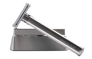 oneblade-stainless-steel-safety-razor-with-stand