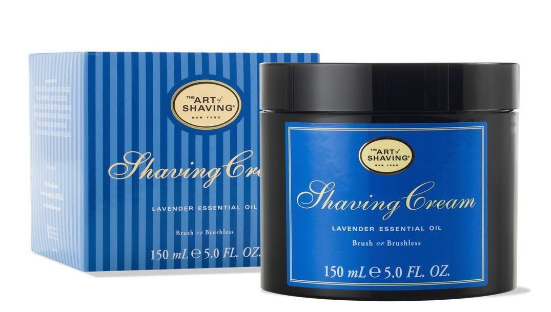 The Art of Shaving Cream