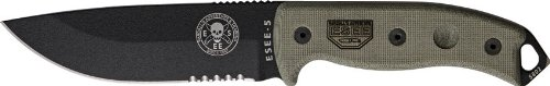ESEE-5 Serrated Edge Blade